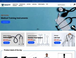 drinstruments.com screenshot