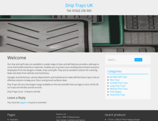 drip-trays.co.uk screenshot