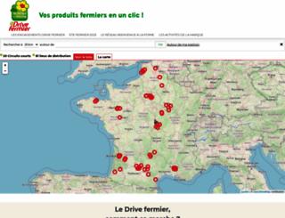 drive-fermier.fr screenshot