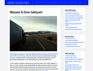 drive-safely.net screenshot