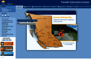 drivebc.ca screenshot