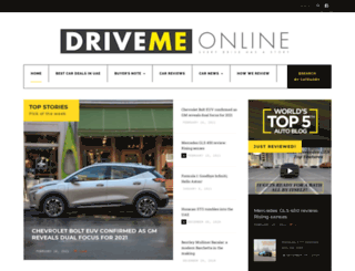 drivemeonline.com screenshot