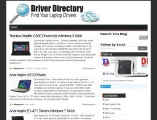 driverdir.com screenshot