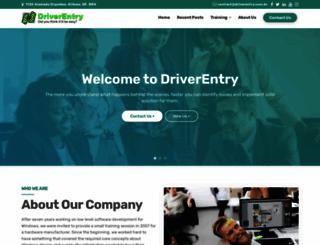 driverentry.com.br screenshot