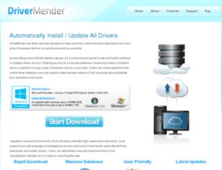 drivermend.com screenshot