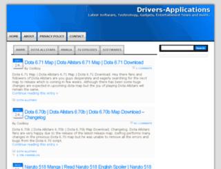 drivers-applications.com screenshot