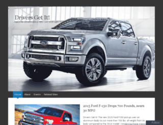 driversgetit.wordpress.com screenshot