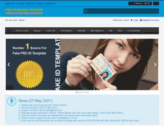 driverslicensepsd.com screenshot