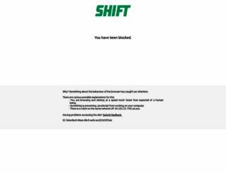 driveshift.com screenshot