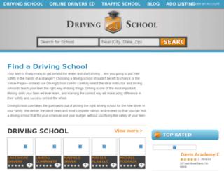 drivingschool.com screenshot