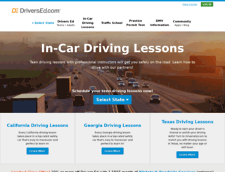 drivingschoolus.com screenshot