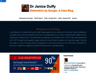 drjaniceduffy.com screenshot