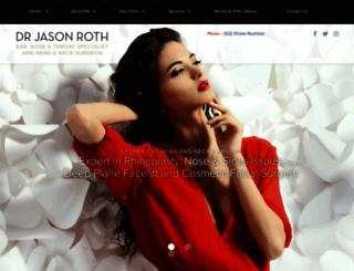drjasonroth.com.au screenshot