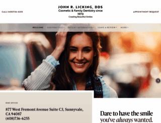 drjohnlicking.com screenshot