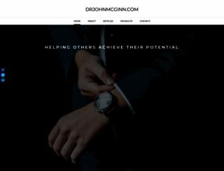 drjohnmcginn.com screenshot