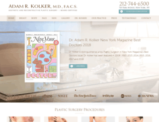 drkolker.com screenshot