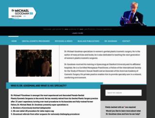 drmichaelgoodman.com screenshot