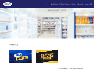 drogariascampea.com.br screenshot