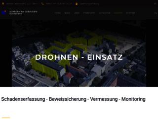 drohne-beweissicherung.com screenshot