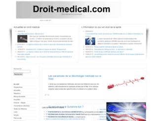droit-medical.com screenshot