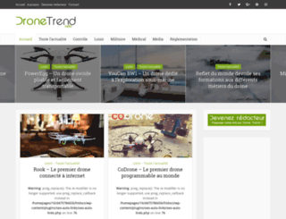 drone-trend.fr screenshot