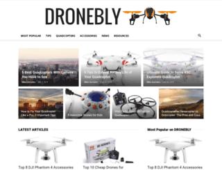 dronebly.com screenshot