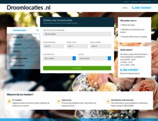 droomlocaties.nl screenshot