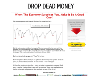 dropdeadmoney.com screenshot
