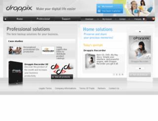 droppix.com screenshot