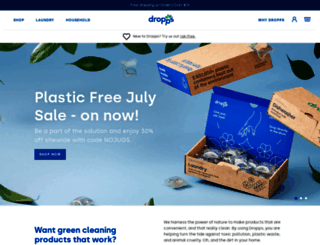 dropps.com screenshot