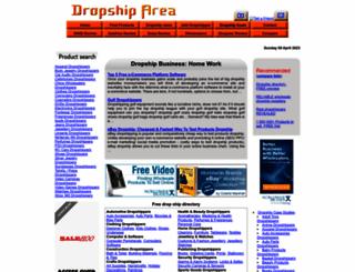 dropshiparea.com screenshot