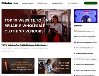 dropshippingblog.com screenshot