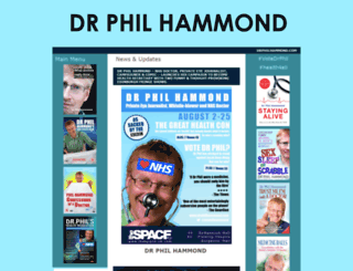 drphilhammond.com screenshot