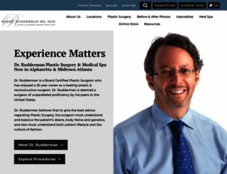 drrudderman.com screenshot