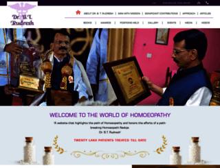 drrudresh.com screenshot