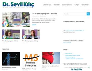 drsevilbiorezonans.com screenshot