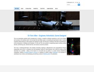 drtomallen.com screenshot