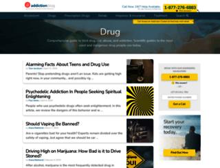 drug.addictionblog.org screenshot