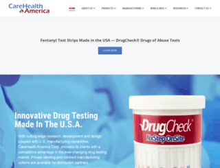 drugcheck.com screenshot