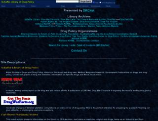 druglibrary.org screenshot