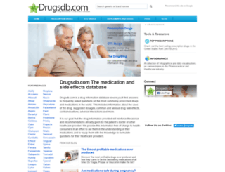 drugsdb.com screenshot