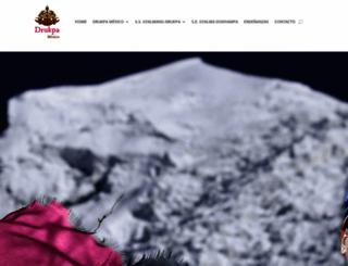 drukpamexico.org screenshot