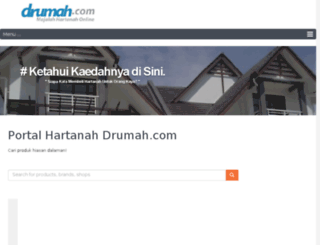 drumah.com screenshot