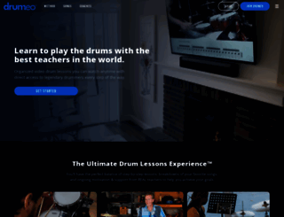 drumeo.com screenshot