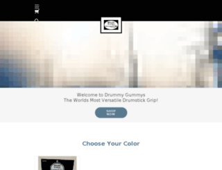 drummygummys.com screenshot