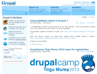 drupal.org.ro screenshot