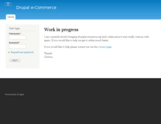 drupalecommerce.org screenshot