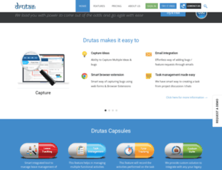drutas.com screenshot
