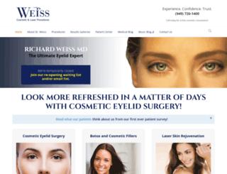 drweiss.com screenshot