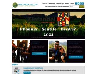 drycreekvalley.org screenshot